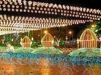Christmas Lights in Medellin, Colombia